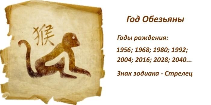 Характеристика знака зодиака Обезьяна по восточному гороскопу