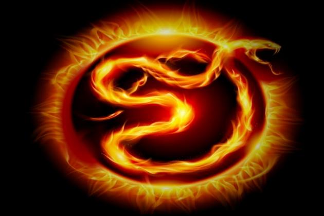 Зодиакальный знак Змея ассоциируется с элементом «огонь»
