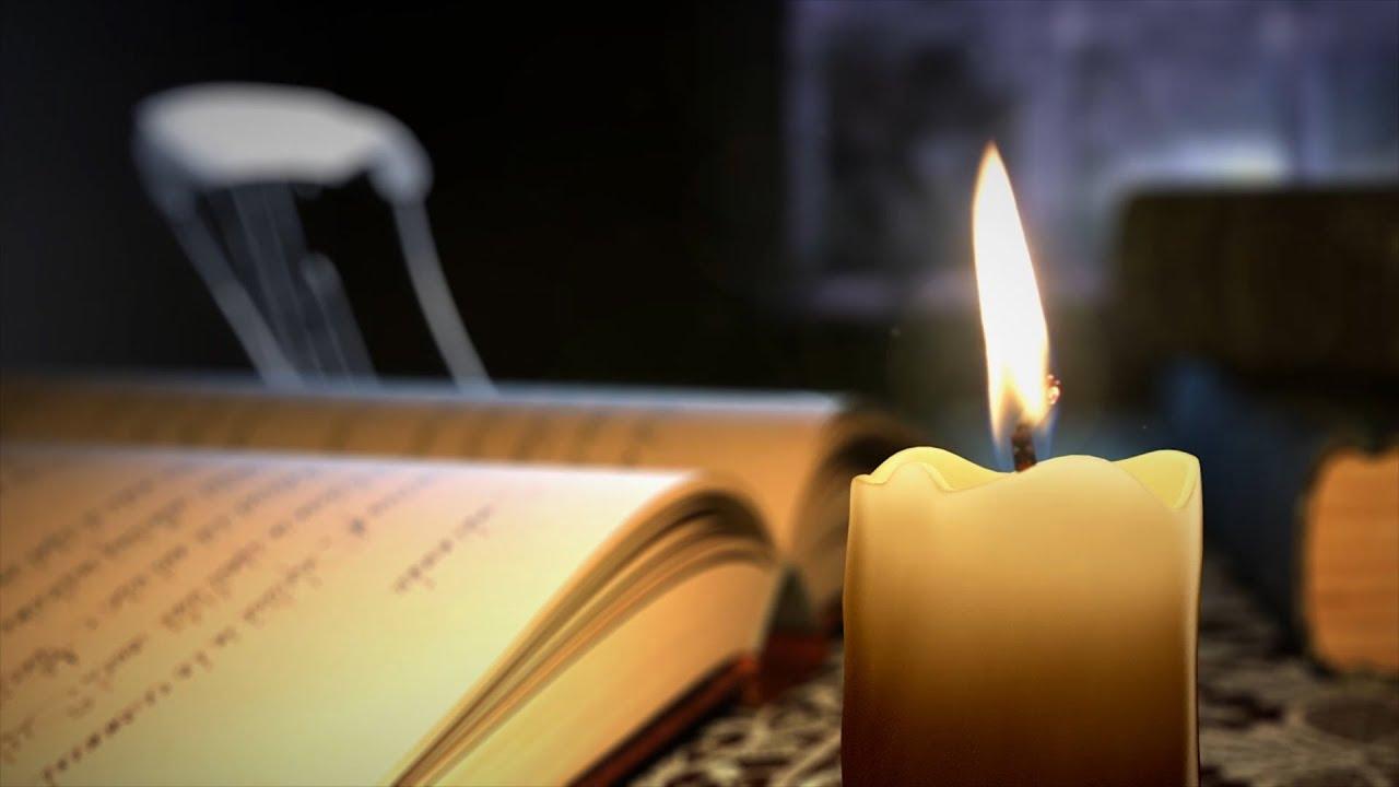 Колдовские заклинания читают на пламя свечи
